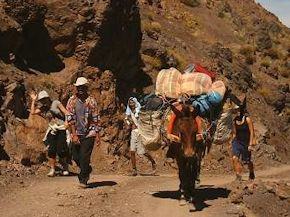 Trekking in the Marrakech mountains